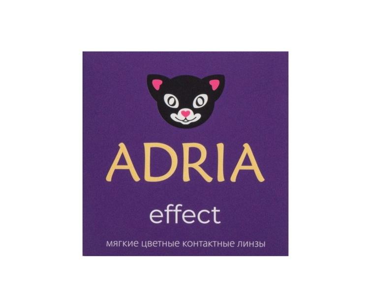 Купить Линзы контактные Adria Effect color 2 pack Диоптрии -1, 00, R 8.6, цвет CARAMEL