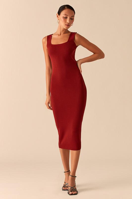 Платье майка женское LOVE REPUBLIC 358305533 красное