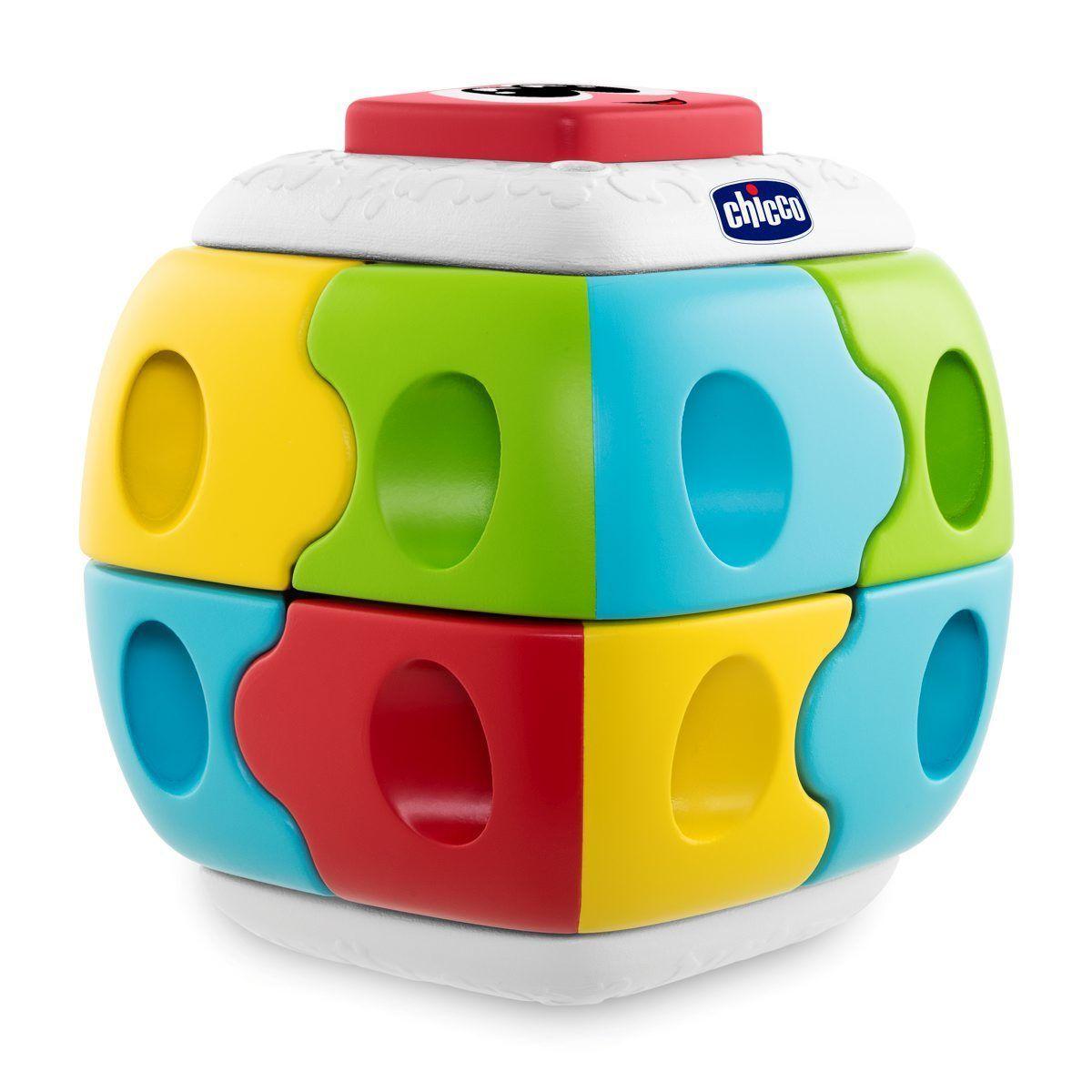 Игрушка-конструктор 2 в 1 Chicco Куб 18м+