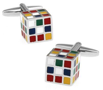 Запонки 2beMan ZP136 разноцветные