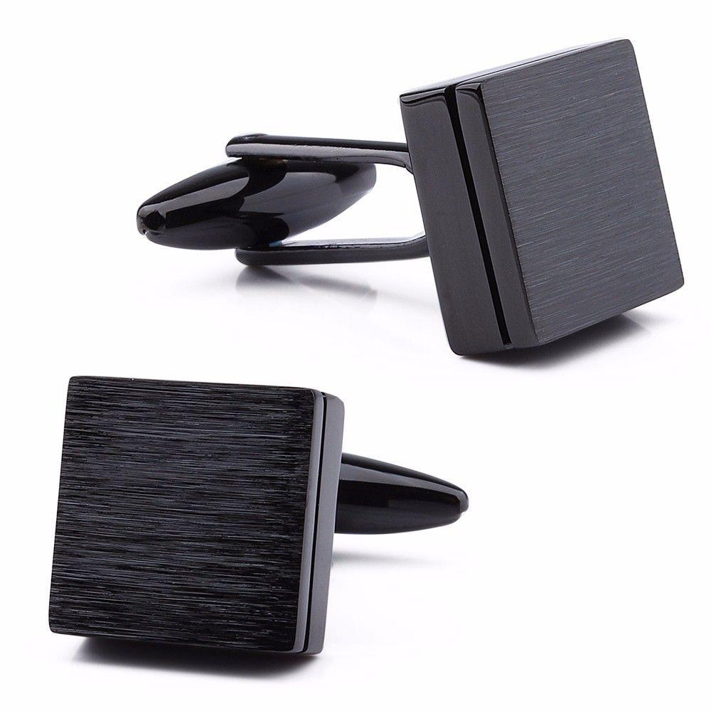 Запонки мужские 2beMan ZP216 черные
