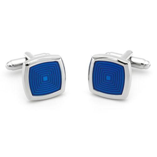 Запонки 2beMan ZP30 голубые