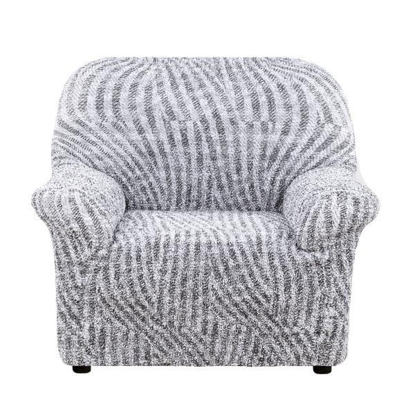 Чехол на кресло Виста Милано серый
