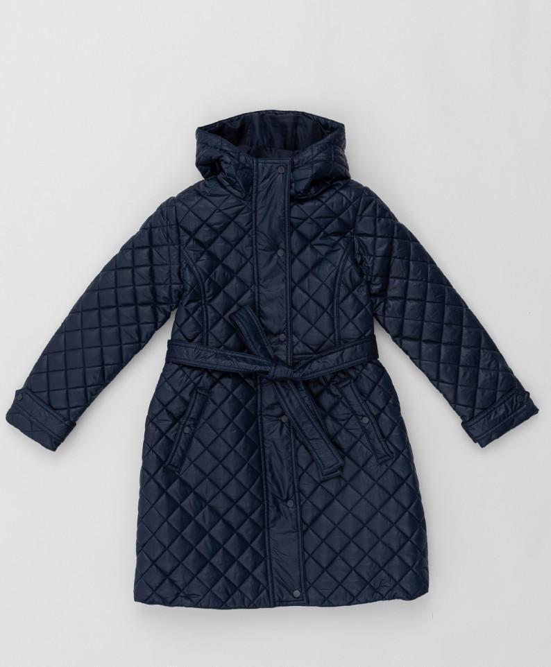 Синее пальто BUTTON BLUE 220BBGS45021000, размер 152
