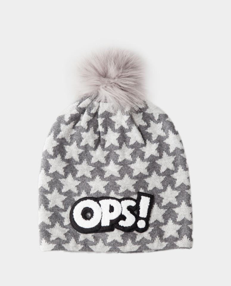 Купить 22003GMC7312, Серая зимняя шапка Gulliver цв. серый 52,