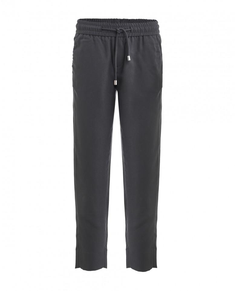 Купить 219GSGC6307, Серые брюки на резинке Gulliver цв. серый 128,