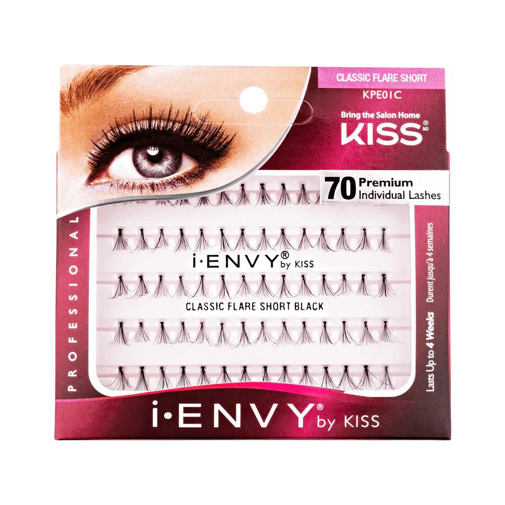 Накладные пучки Kiss IEnvy Individual Lashes Классика