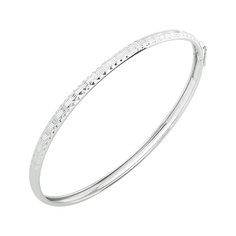 Браслет из серебра р.19.5 НАШЕ ЗОЛОТО ЮП1400111241