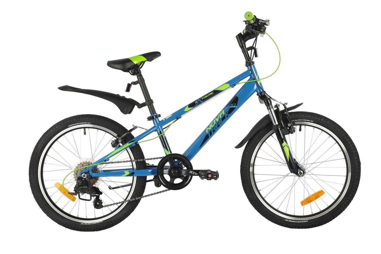 Купить 20SH6V.EXTREME.BL21, Велосипед NOVATRACK 20 EXTREME 6.V синий,