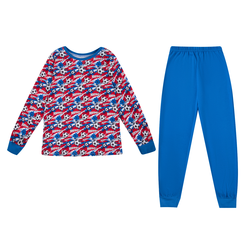 Купить GL000981485, Пижама джемпер/брюки Leader Kids мультиколор р.110,