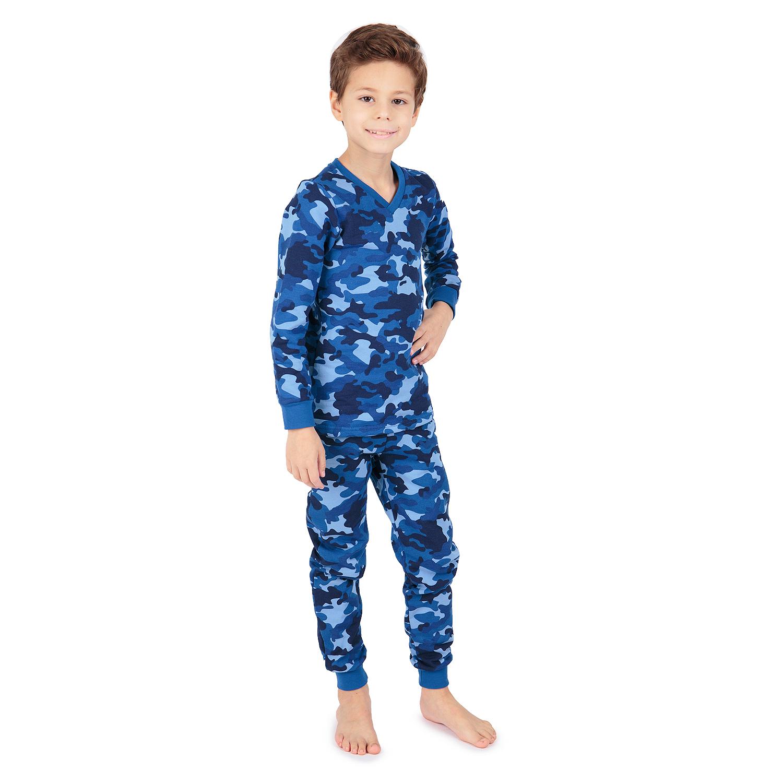 Пижама джемпер/брюки Зайка Моя синий р.152 GL001032483