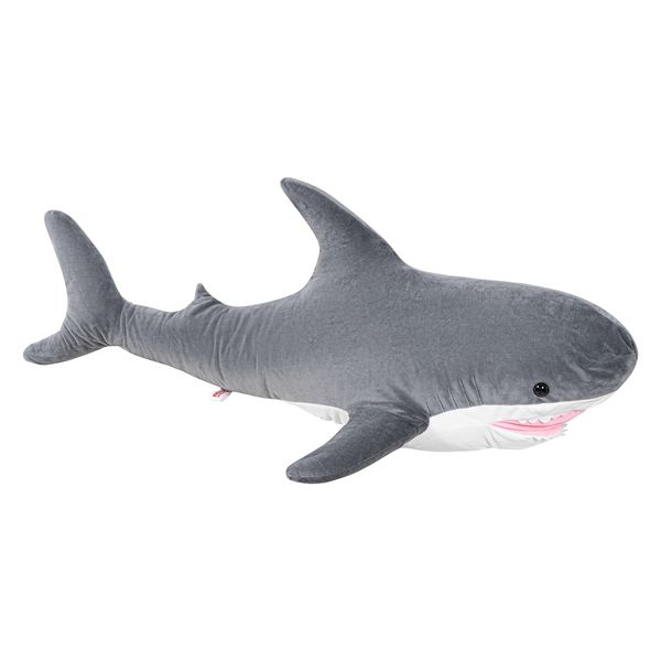 Игрушка мягкая KETT-UP Добрая Акула средняя , 70см