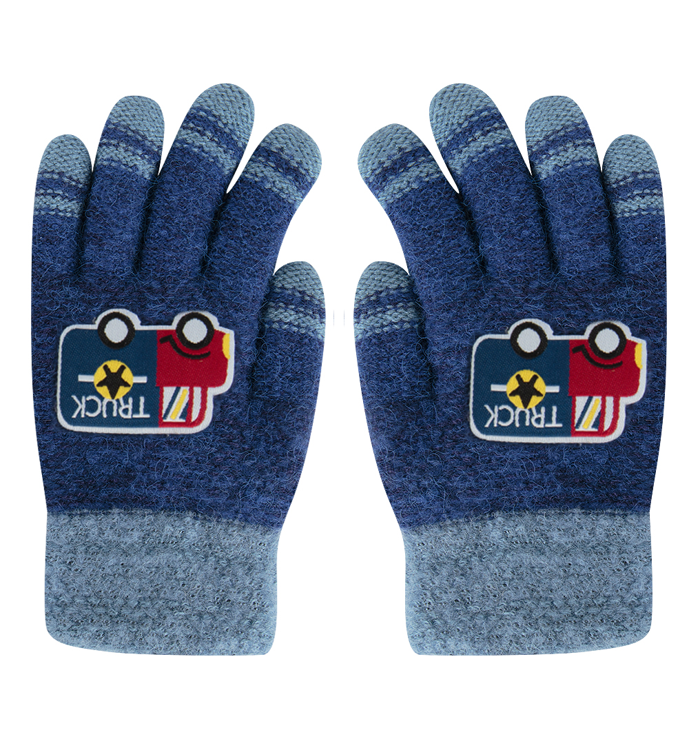 Перчатки Bony Kids синий р. GL000755839