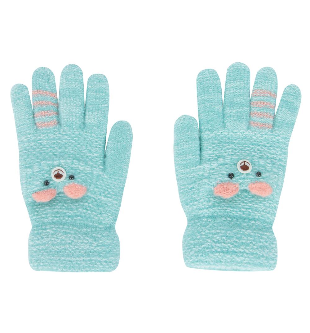 Перчатки Bony Kids голубой р. GL000755846