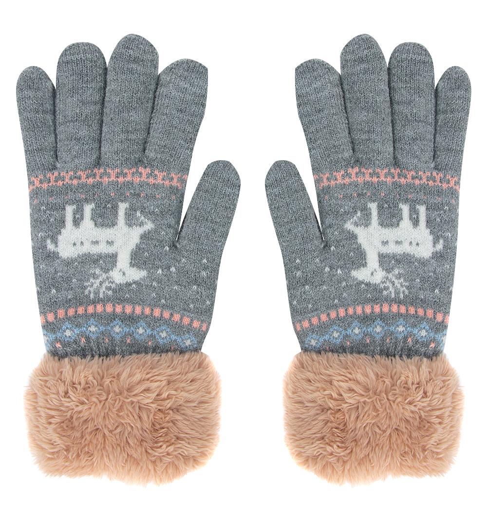 Перчатки Bony Kids серый р. GL000755851