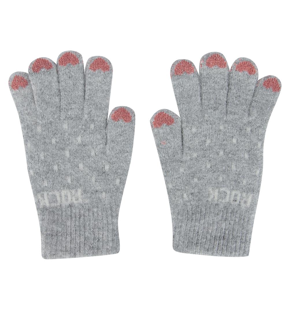 Перчатки Bony Kids серый р. GL000755931