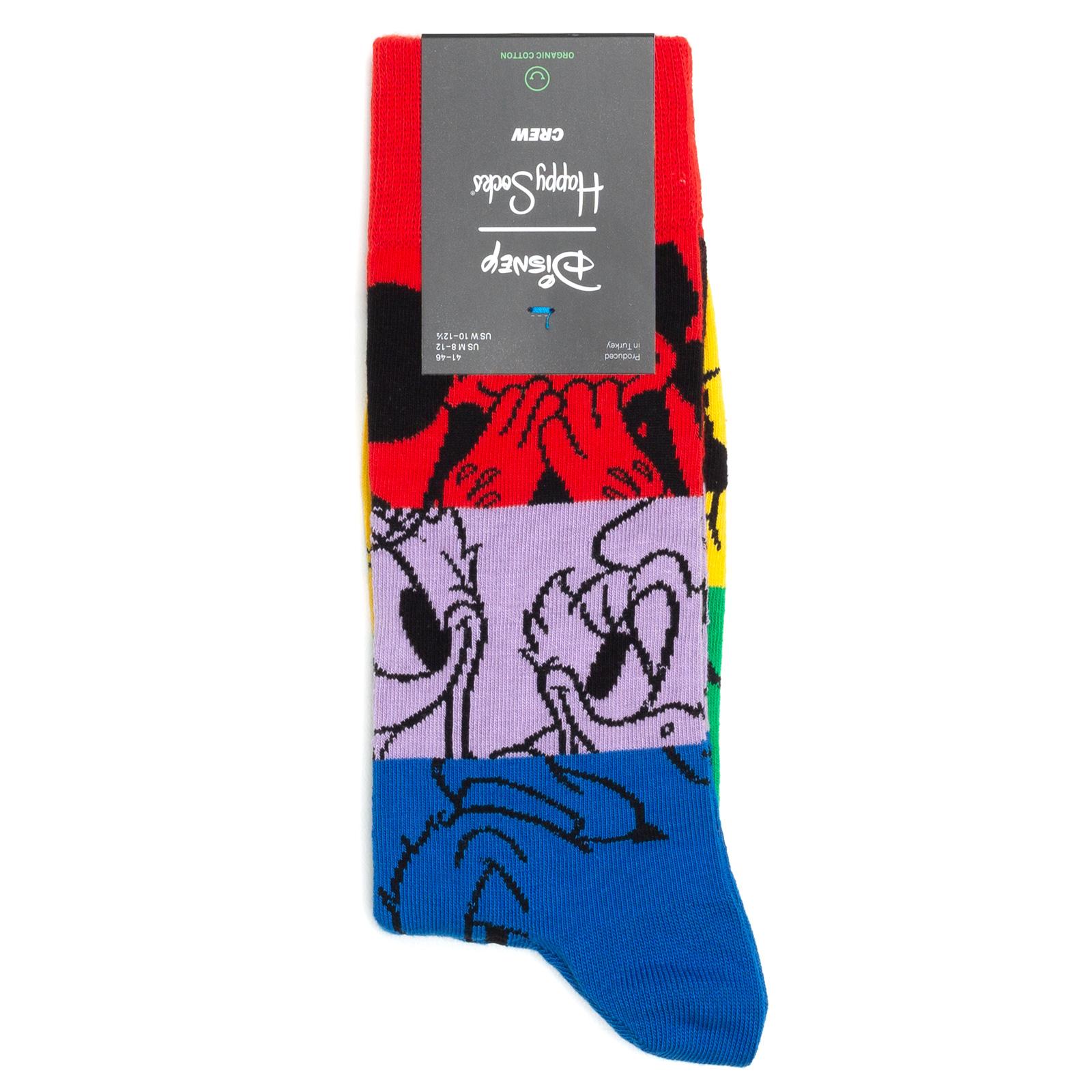 Носки унисекс Happy Socks Colorful Friends разноцветные 41-46