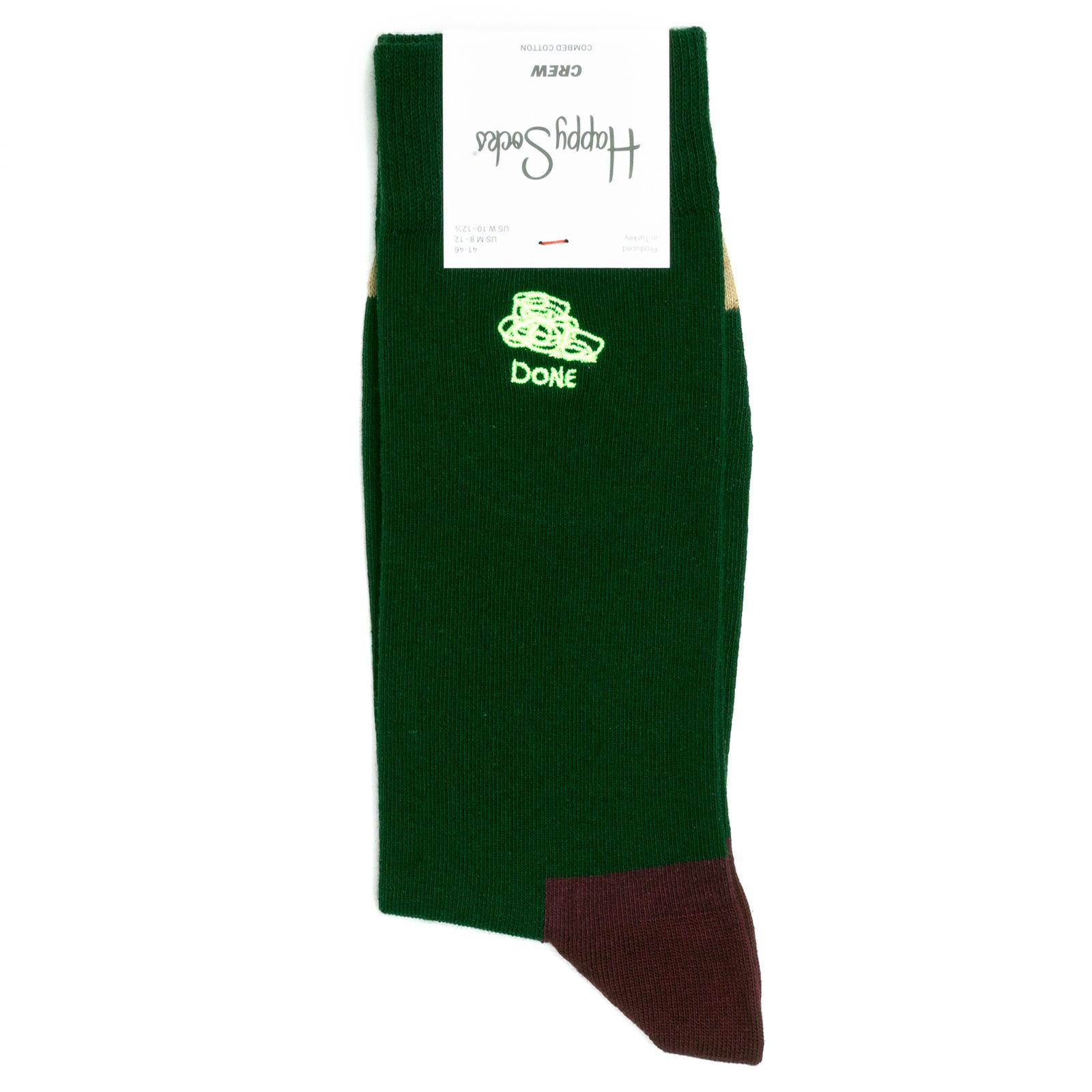 Носки унисекс Happy Socks Done разноцветные 41-46