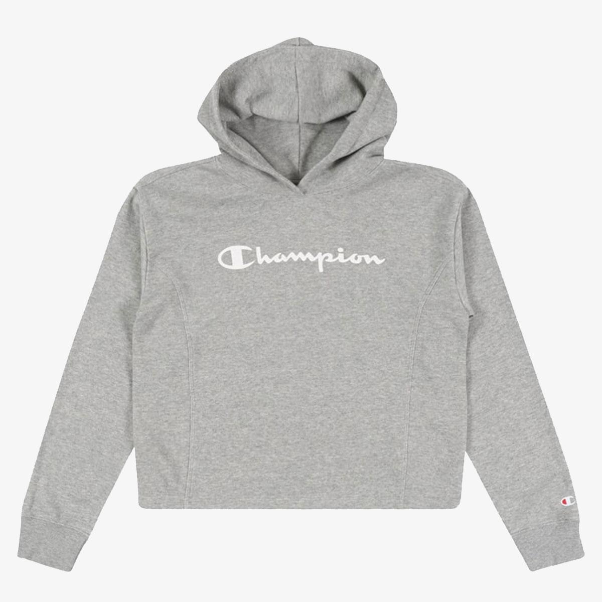 Купить Толстовка Champion Legacy American Classics Hooded Sweatshirt 403792-EM006 серый р.M,