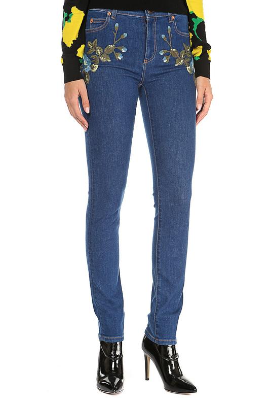 Джинсы женские Gucci 470225/XR712/4205 синие 38