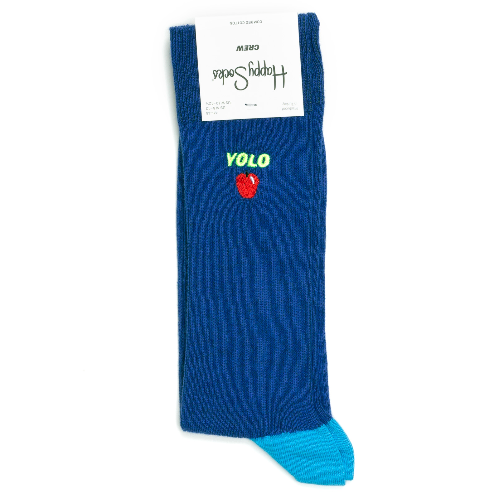 Носки унисекс Happy Socks Yolo разноцветные 36-40