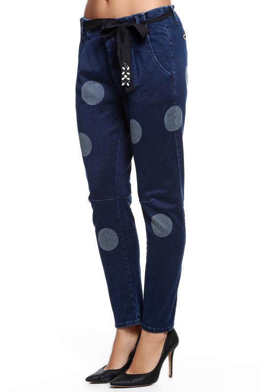 Джинсы женские Twin-Set Jeans JA523P синие 42