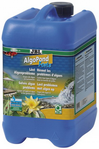 Средство для борьбы с водорослями в пруду