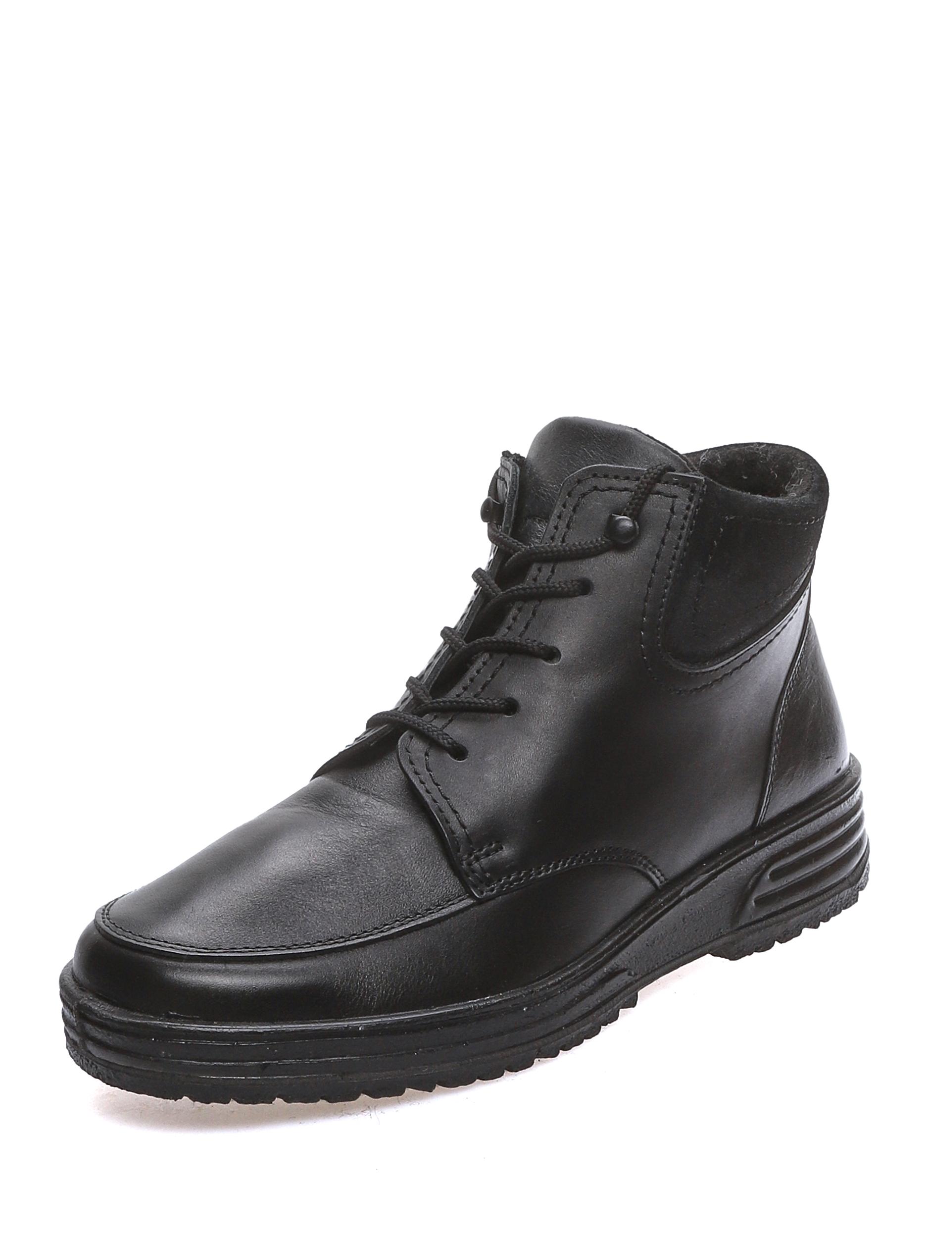Ботинки женские MAKFLY 88MF-36-01 черные 40 RU