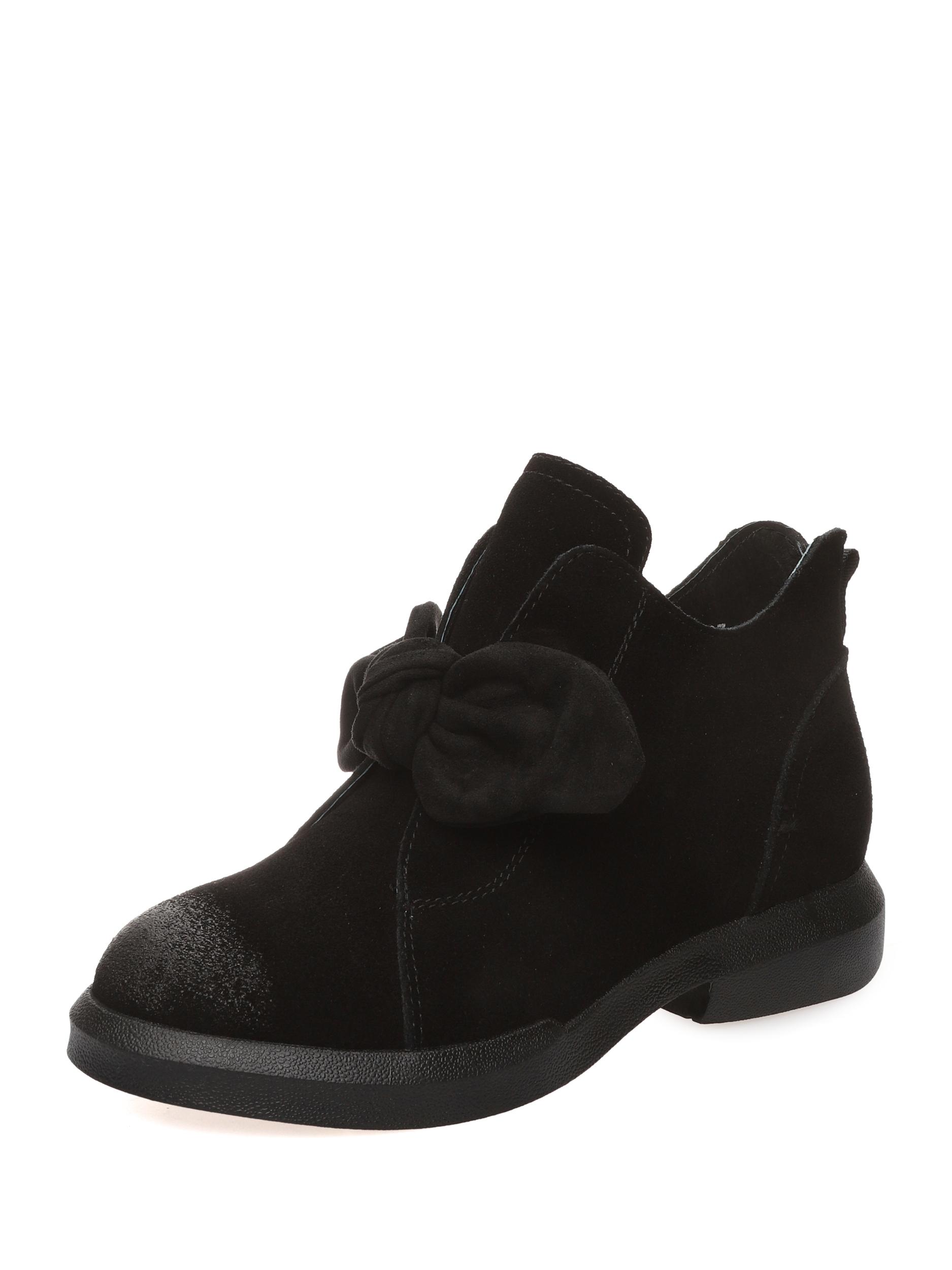 Ботинки женские MAKFINE 99-01 черные 36 RU