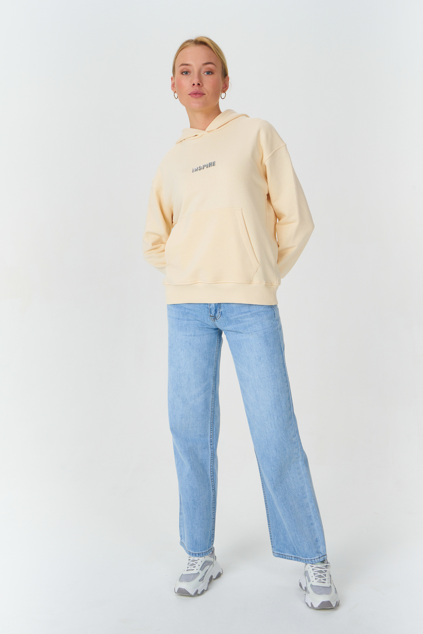 Джинсы женские Tom Farr T4F W5843.33 голубые 25/32