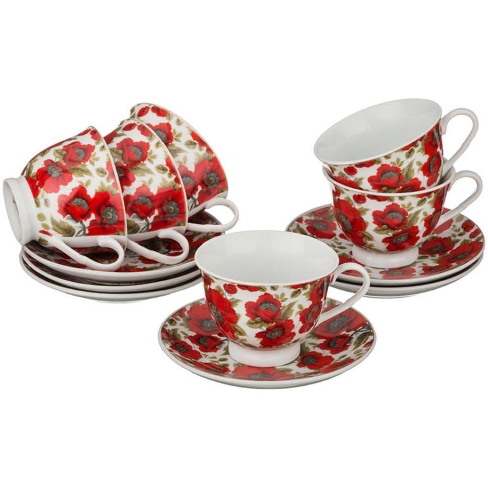 Чайный набор на 6 персон (12 предметов)