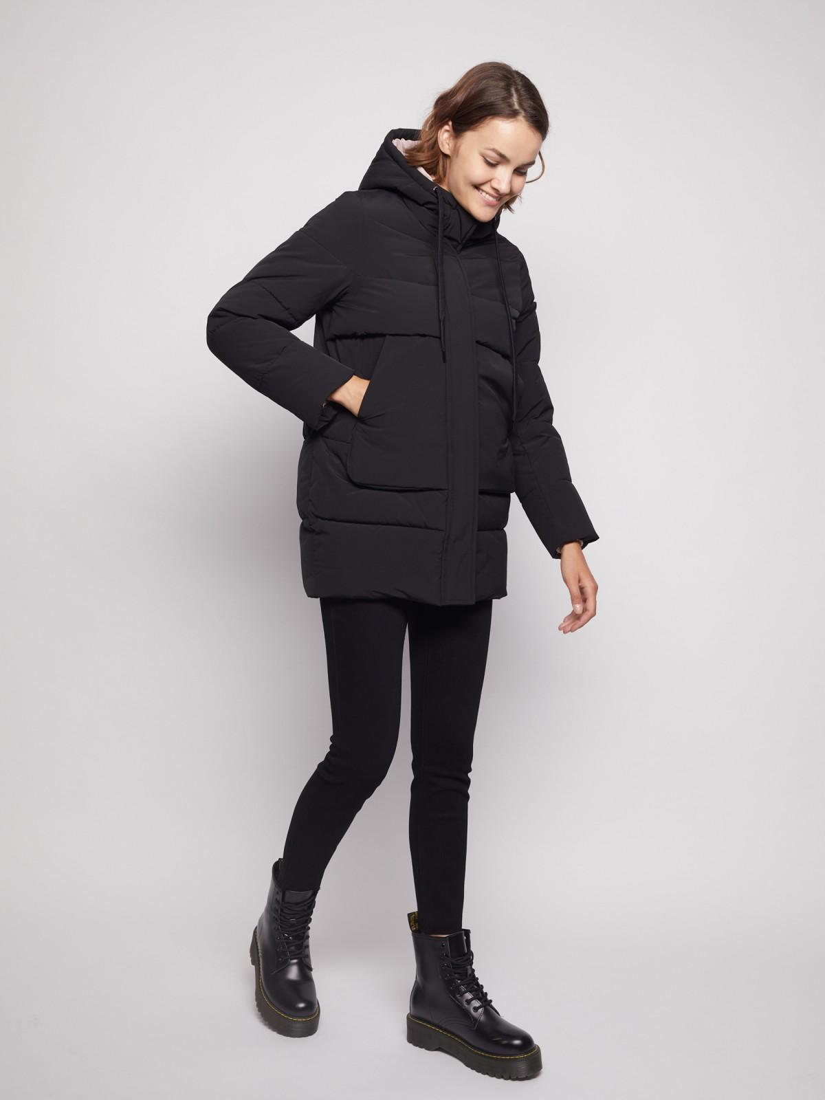 Куртка женская Zolla 021345202034 черная L