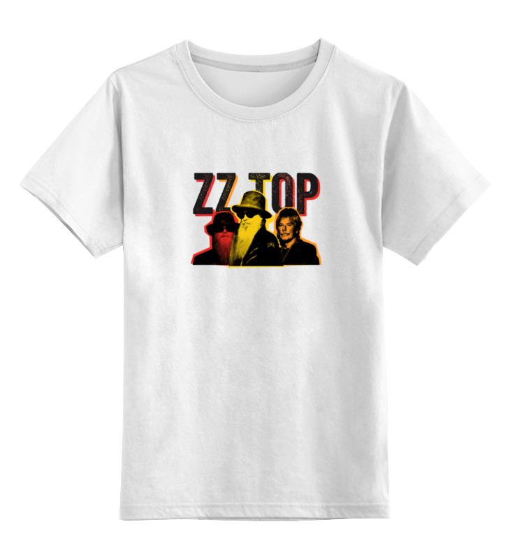Купить 0000000664664, Детская футболка классическая Printio Zz top!, р. 104,