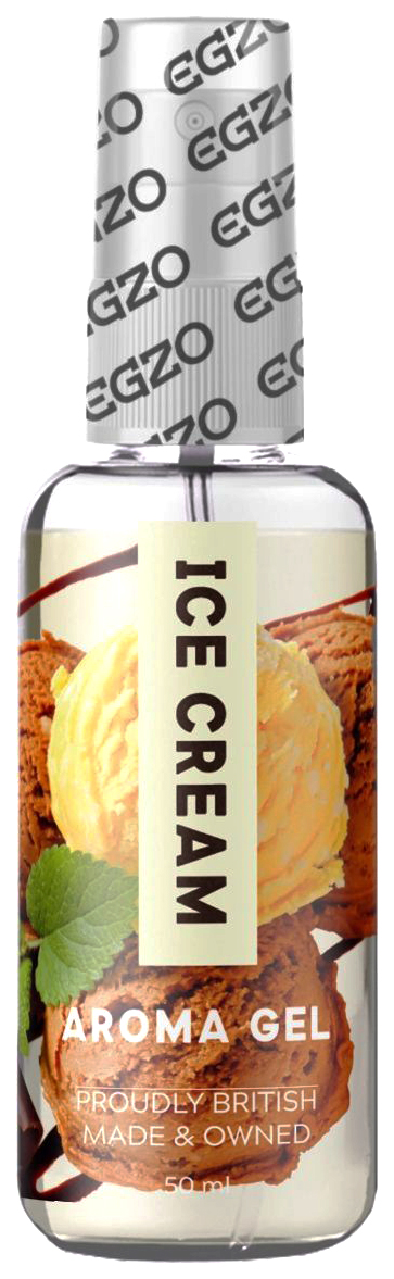 Купить Интимный лубрикант EGZO AROMA с ароматом мороженого 50 мл. EGZO