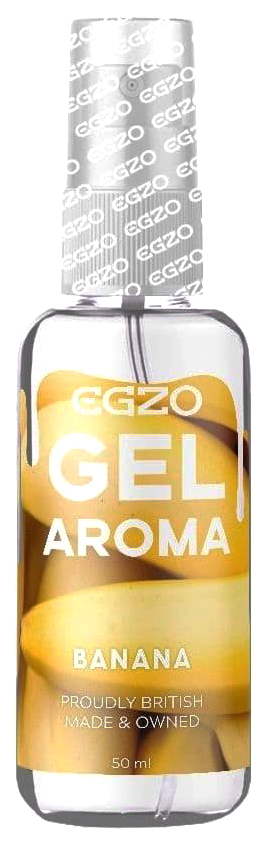 Интимный лубрикант EGZO AROMA с ароматом банана 50 мл. EGZO  - купить со скидкой