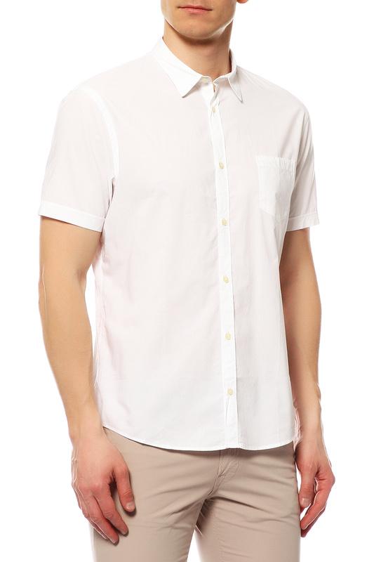 Рубашка мужская Tru Trussardi 524082 белая L