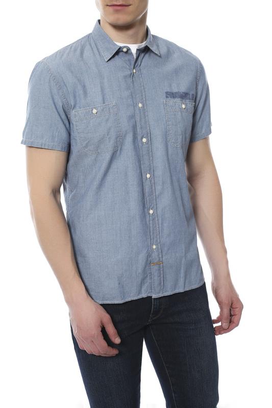 Рубашка мужская Tru Trussardi 524046 голубая S