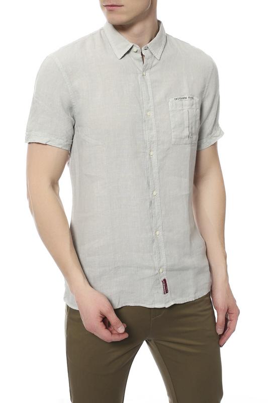 Рубашка мужская Tru Trussardi 524442R серая L
