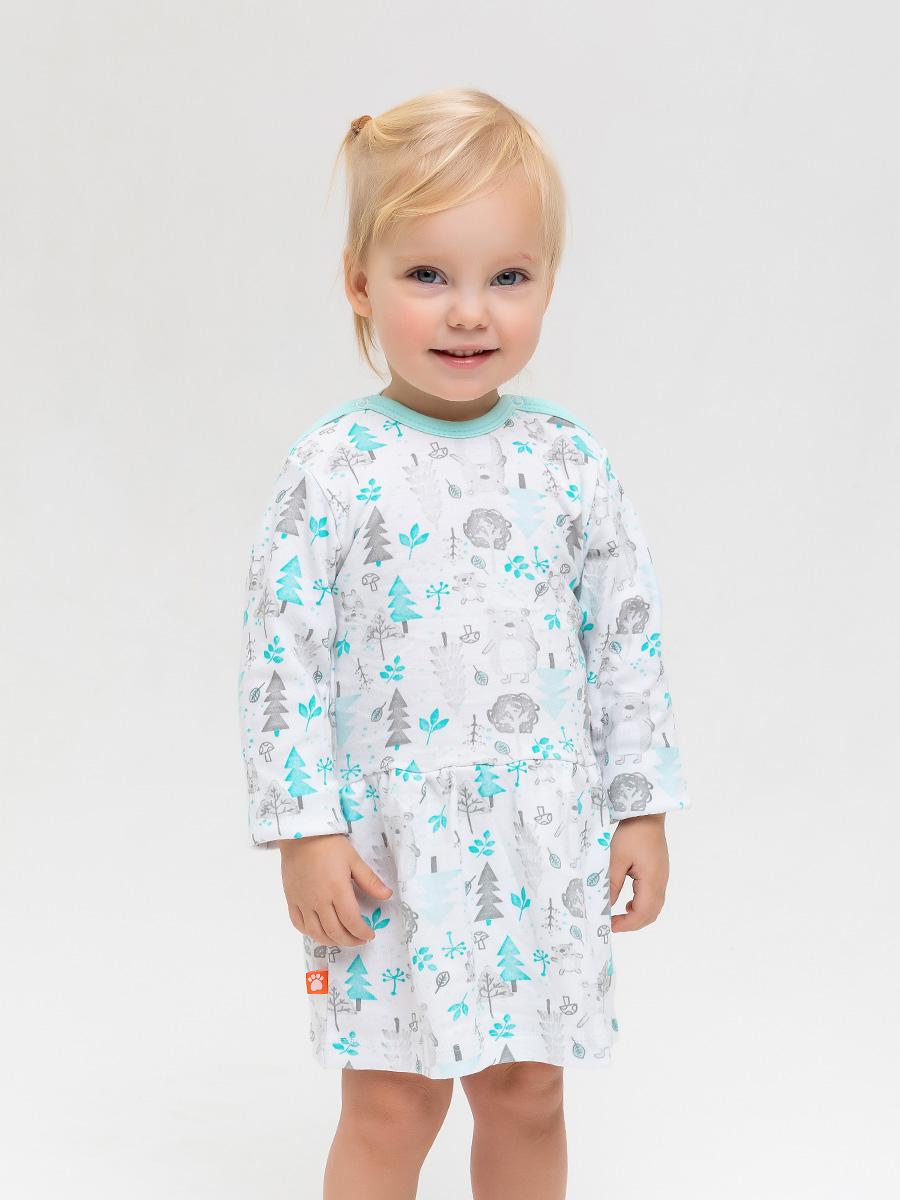 Платье Лесные Мишки Котмаркот 2000951 для новорожденных
