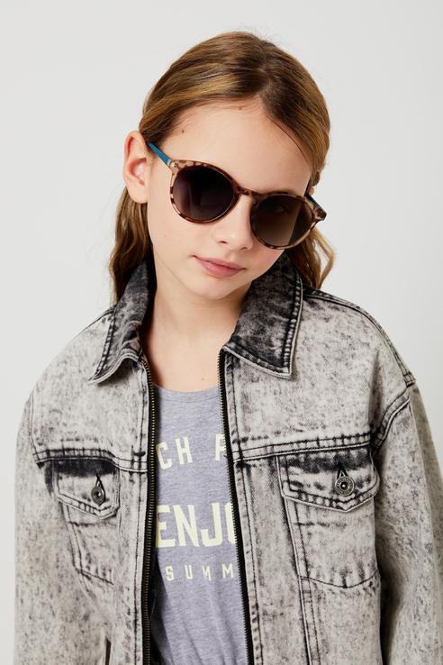 Солнцезащитные очки Sela 1804032720 цв. коричневый