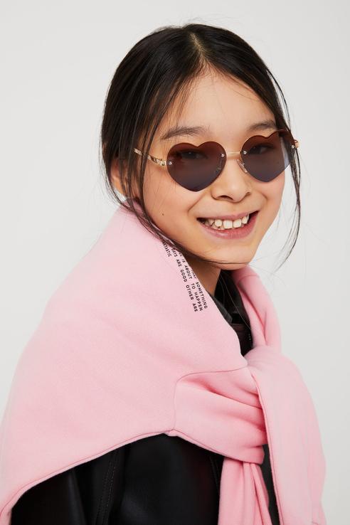 Солнцезащитные очки Sela 1804032715 цв. розовый