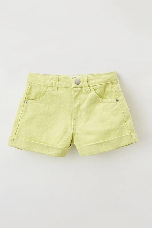 Купить Джинсовые шорты Sela 1804041584 цв. зеленый р. 116,