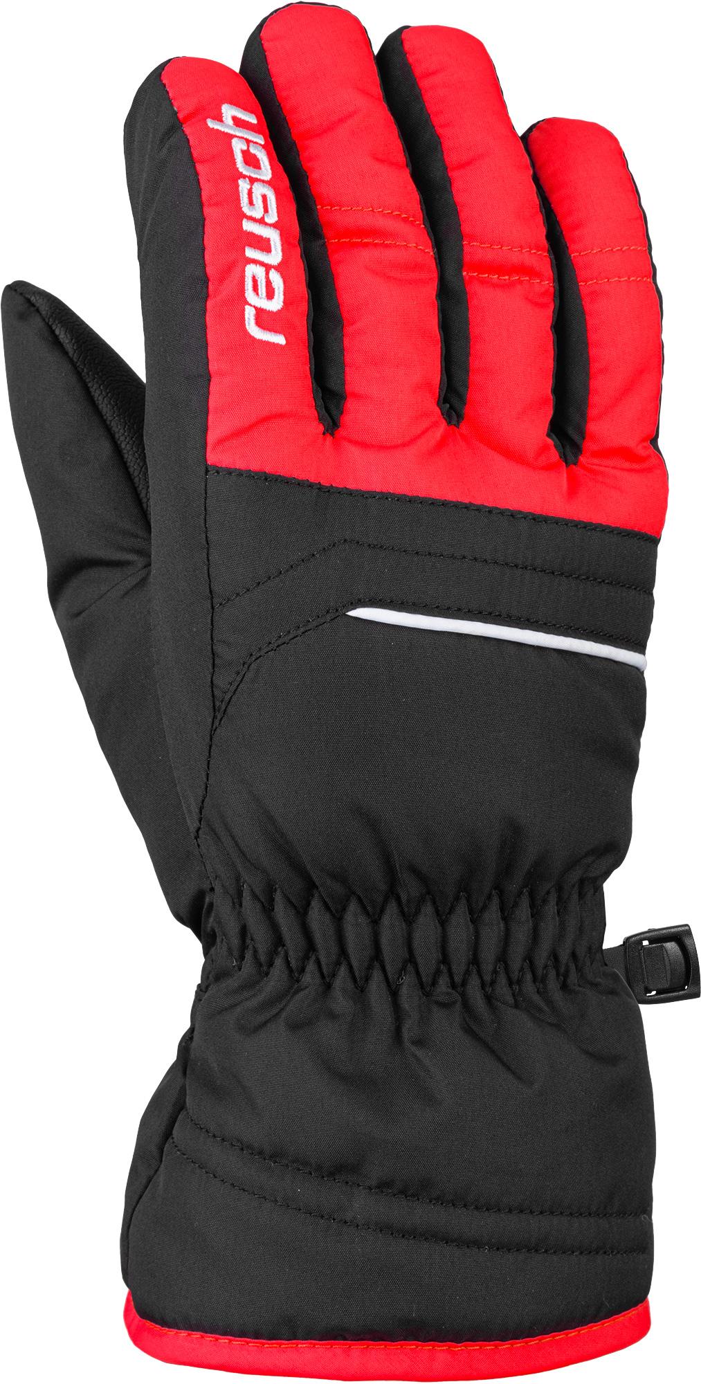 Перчатки Горнолыжные Reusch 2020-21 Alan Black/Fire Red Inch Дюйм:6,  - купить со скидкой