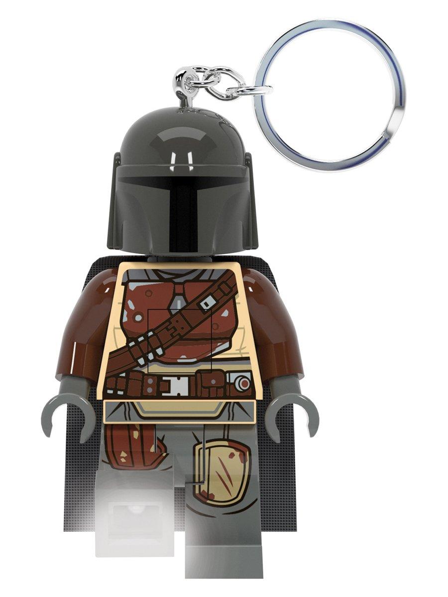 Купить Брелок-фонарик для ключей LEGO Star Wars Mandalorian Мандалорец,