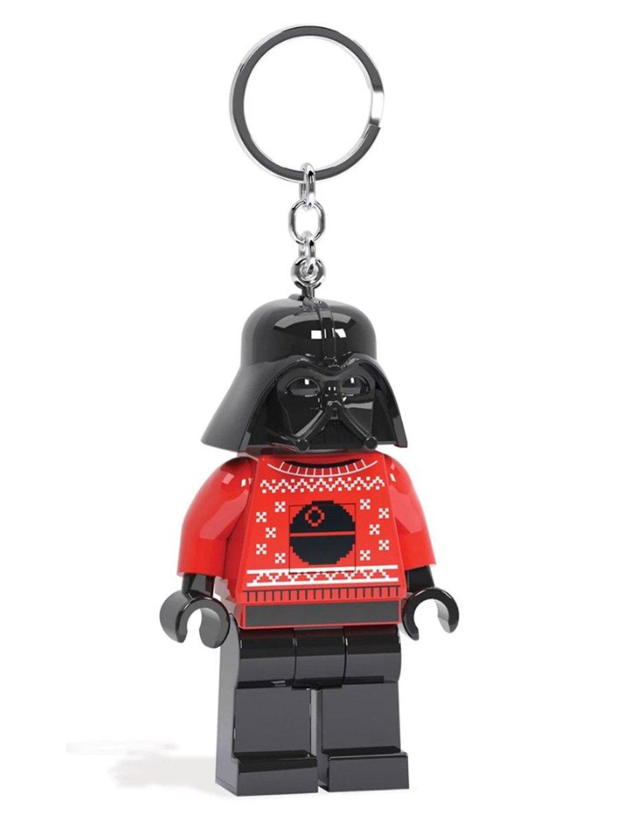 Купить Брелок-фонарик для ключей LEGO Star Wars Darth Vader in Sweater Дарт Вейдер в свитере,