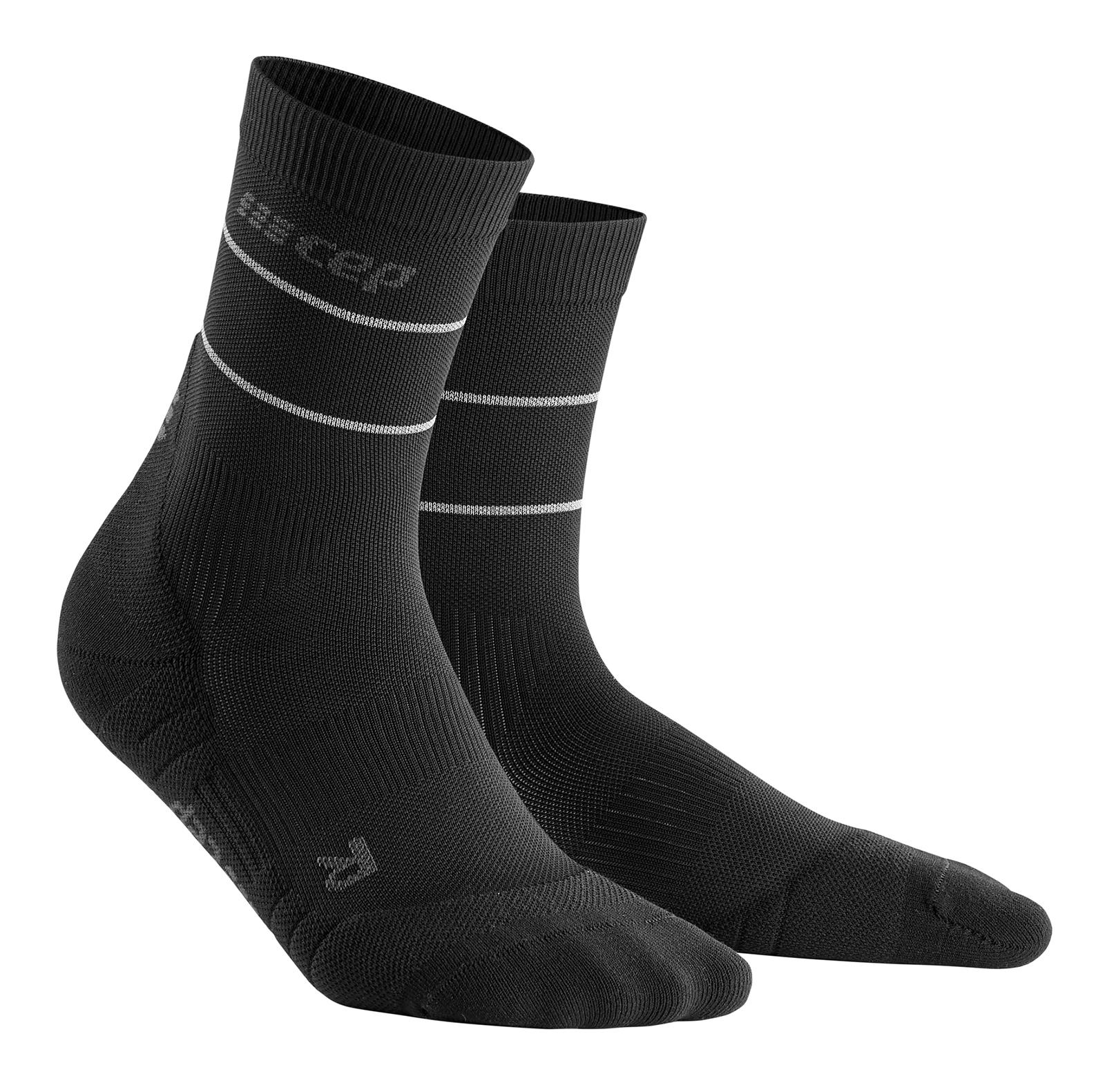 Гольфы унисекс CEP Reflective Crew Socks C103R черный III
