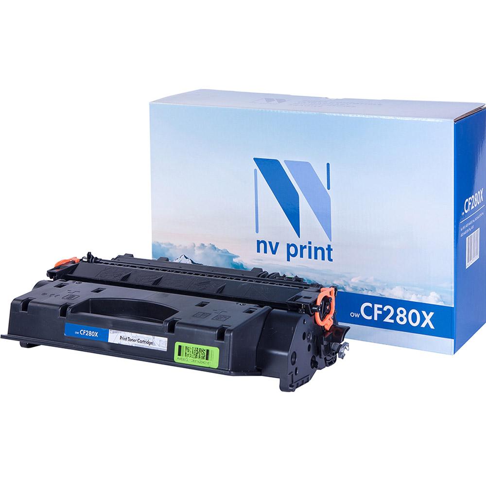 Картридж для лазерного принтера NV Print CF280X, черный, совместимый NV-CF280X