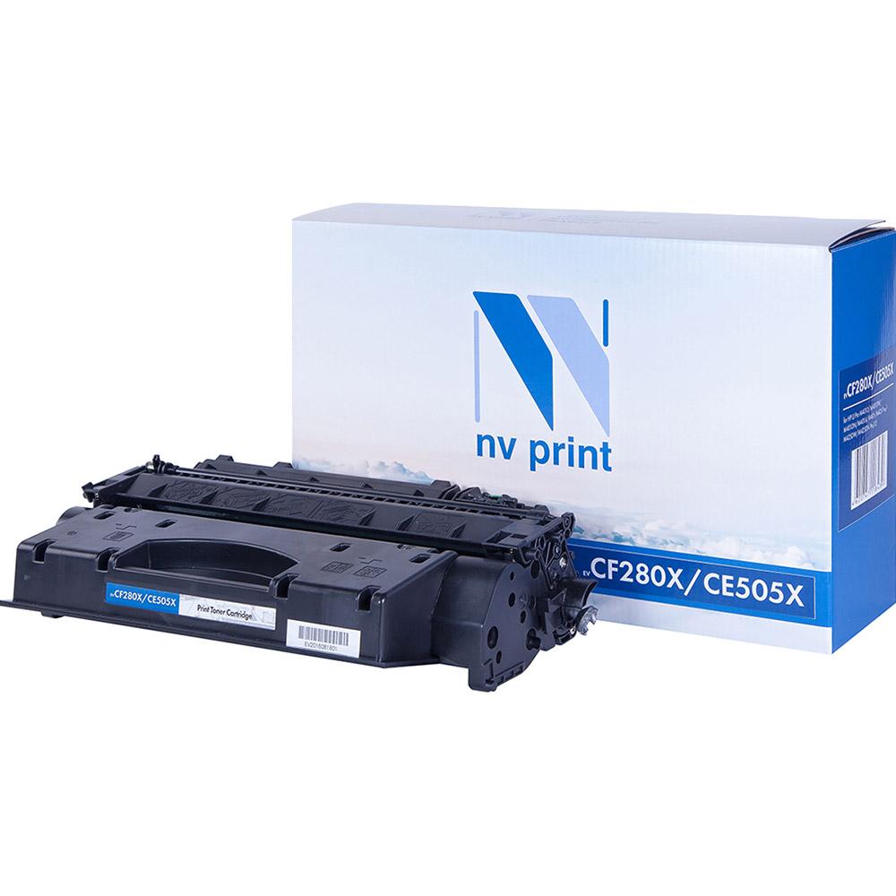 Картридж для лазерного принтера NV Print CF280X/CE505X, черный, совместимый NV-CF280X/CE505X