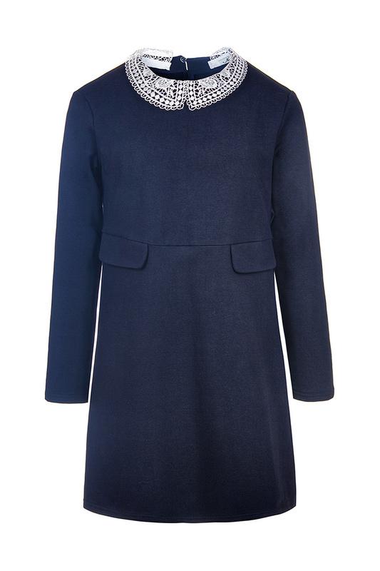 Платье NOTA BENE Темно-синий р.146 181211210-29