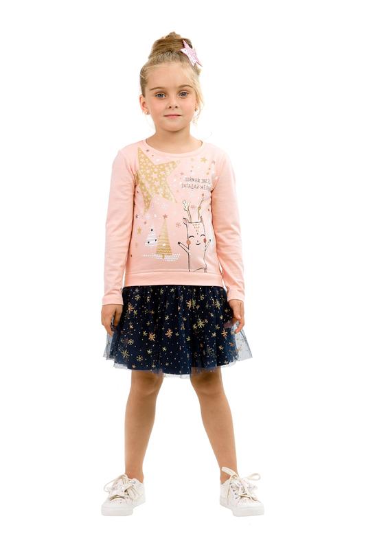 Платье PELICAN розовый(37) р.86
